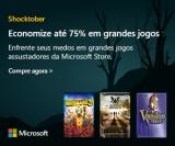 Shocktober: até 75% de desconto em grandes jogos assustadores na Microsoft