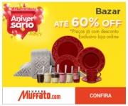 Aniversário: Bazar com até 60% de desconto no Muffato