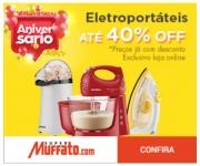 Aniversário: Eletroportáteis com até 40% de desconto no Muffato
