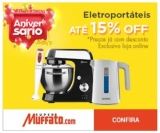 Só Hoje: Eletroportáteis com até 15% de desconto no Muffato