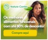 Alimentos Funcionais com até 80% de desconto na Nature Center