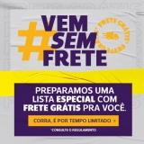 Só Hoje: até 75% de desconto e Frete Grátis Brasil sem mínimo de compra na Netshoes