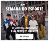 Semana do Esporte: membros Nike.com têm descontos exclusivos na Nike