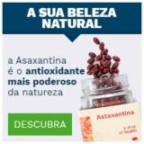 Asaxantina, poderoso antioxidante na Ocean Drop