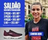 Saldão com Desconto Progressivo: 25% de desconto na compra de cinco ou mais peças na Olympikus