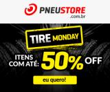 Tire Monday: produtos com até 50% de desconto na PneuStore