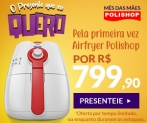 Fritadeira Elétrica Airfryer Philips Walitta no Polishop