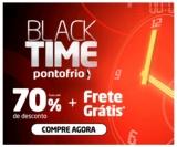 Black Time: até 70% de desconto + Frete Grátis* no Ponto Frio
