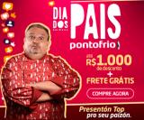 Dia dos Pais: até R$ 1.000,00 de desconto + Frete Grátis* no Ponto Frio