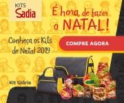Kits de Natal Premium, uma ótima opção de presente com a qualidade da Sadia