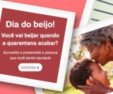 Só Hoje – Dia do Beijo: Presenteie a pessoa que você sente saudade no ShopFácil