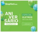 Aniversário: Especial Eletros no ShopFácil