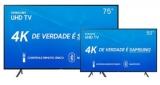 Dois modelos de Smart TV Samsung com até R$ 2.000,00 de desconto no Shoptime