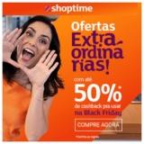 Ofertas Extraordinárias: site com até 50% de cashback para aproveitar no Black Friday no Shoptime