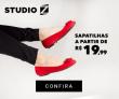 Sapatilhas a partir de R$ 19,99 no Studio Z