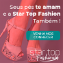 10% de desconto na primeira compra na Star Top Fashion
