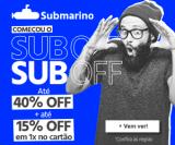 Subday: até 40% de desconto + 15% de desconto extra em 1X no cartão no Submarino