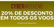 Cyberweekend: voos com 20% de desconto (21 de janeiro a 30 de maio de 2020) na TAP