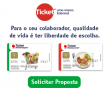 Ofereça para os colaboradores Ticket Alimentação e Ticket Restaurante da Ticket