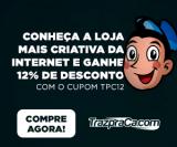 12% de desconto em todo o site na TrazpraCa