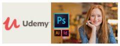Cursos de Design Gráfico Completo, do básico ao avançado, a partir de R$ 23,99 na Udemy