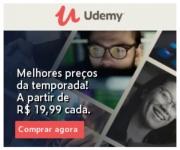 Os melhores preços da temporada: cursos online a partir de R$ 19,99 na Udemy