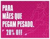 Dia das Mães: 20% de desconto para as mães que pegam pesado na Under Armour
