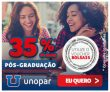 35% de desconto nos cursos de Pós-graduação EAD na Unopar
