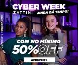Cyber Week: mínimo de 50% de desconto na Zattini