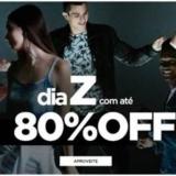 Dia Z: até 80% de desconto + Frete Grátis acima de R$ 49,99 na Zattini
