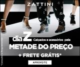 Dia Z: calçados e acessórios pela metade do preço + Frete Grátis a partir de R$ 39,99 em compras na Zattini
