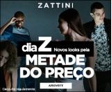 Dia Z: novos looks pela metade do preço + Frete Grátis a partir de R$ 39,99 na Zattini