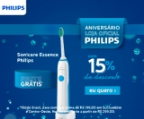 Aniversário: Escova de Dentes Elétrica Sonicare Essence Philips HX3211/13 com 15% de desconto na Philips
