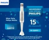 Aniversário: Mixer Daily Philips Walita branco RI2622 com 15% de desconto na Philips