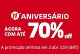 11° Aniversário: agora com até 70% de desconto no AliExpress