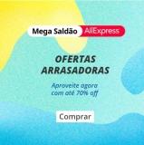 Mega Saldão: aquecimento com até 70% de desconto no AliExpress