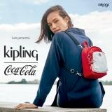 Lançamento Kipling Coca-Cola: mochilas feitas tecido de garrafa PET na Allbags