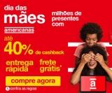 Dia das Mães: milhares de presentes com até 40% de cashback + Frete Grátis* nas Americanas