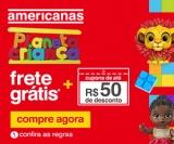 Planeta Criança: até R$ 50,00 de desconto em brinquedos + Frete Grátis nas Americanas