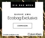 Dia das Mães: ganhe uma ecobag exclusiva nas compras acima de R$ 450,00 na Calvin Klein