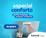 Ar-Condicionado Quente e Frio com Descontos Especiais na Central Ar