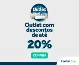 Outlet com até 20% de desconto na Central Ar