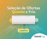 Seleção de Ofertas de Ar-Condicionado quente e frio na Central Ar