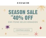 Season Sale: até 40% de desconto em produtos selecionados na Coach