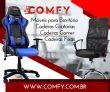 Móveis de Escritório, Cadeiras de Escritório e Cadeiras Gamer são especialidade da Comfy