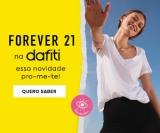 Lançamento: a grife Forever 21 chegou na Dafiti
