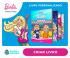 Livros Personalizados da Barbie com sua filha na Dentro da História