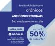 Anticoncepcional com até 50% de desconto na Drogasil