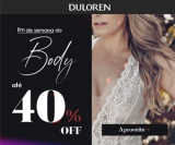 Fim de Semana do Body: até 40% de desconto na DuLoren