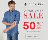 Opportunity Sale: 50% de desconto em produtos selecionados na Dudalina